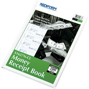 "Rediform® Receipt Books, 8"" x 11"", Hardbound, 3 Part"