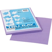 "Tru-Ray® Sulphite Construction Paper, 9"" x 12"", Lilac, 50 Sheets"