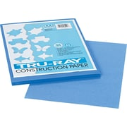 "Tru-Ray® Sulphite Construction Paper, 9"" x 12"", Blue, 50 Sheets"