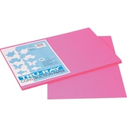 "Tru-Ray® Sulphite Construction Paper, 12"" x 18"", Shocking Pink, 50 Sheets"