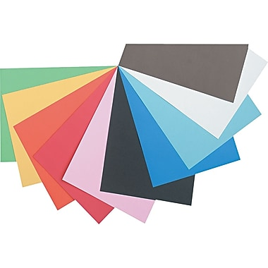 Tru-Ray® Sulphite Construction Paper, 12in. x 18in. , Assorted Colors, 50 Sheets