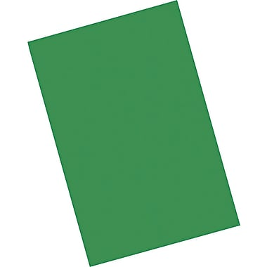Riverside® Groundwood Construction Paper, 12in. x 18in., Holiday Green, 25 Sheets