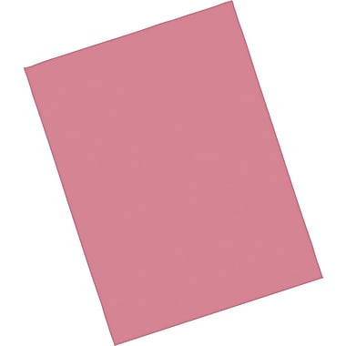 Riverside® Groundwood Construction Paper, 9in. x 12in., Raspberry, 50 Sheets