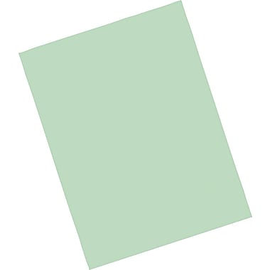 Riverside® Construction Paper; 9in. x 12in., Light Green, 50 Sheets