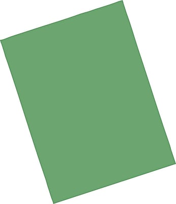 Pacon Riverside Paper Construction Paper 9 x 12 Dark Green 103598
