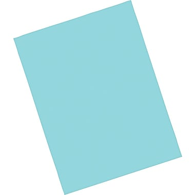 Riverside® Groundwood Construction Paper, 9in. x 12in., Blue-Green 50 Sheets