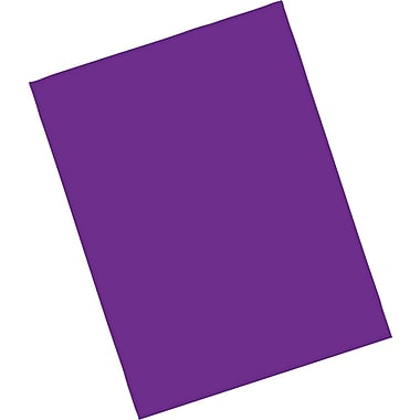 Riverside® Construction Paper; 9in. x 12in., Magenta, 50 Sheets