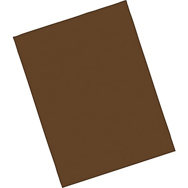 Riverside® Groundwood Construction Paper, 9in. x 12in., Dark Brown, 50 Sheets