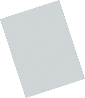Pacon Riverside Paper Construction Paper 9 x 12 Gray 103608