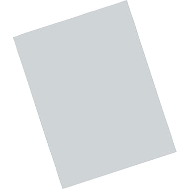 Riverside® Construction Paper; 9in. x 12in., Grey, 50 Sheets