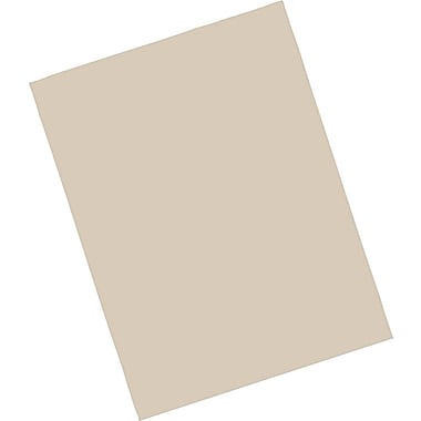 Riverside® Groundwood Construction Paper, 9in. x 12in., Light Brown, 50 Sheets