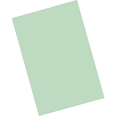Riverside® Groundwood Construction Paper, 12in. x 18in., Light Green, 25 Sheets