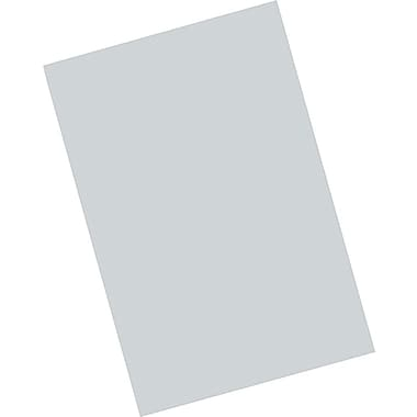 Riverside® Groundwood Construction Paper, 12in. x 18in., Gray, 25 Sheets