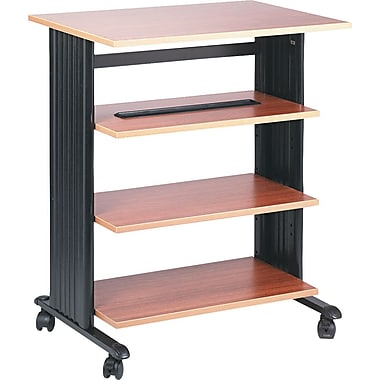 Safco Four Level Printer Stand, Oak