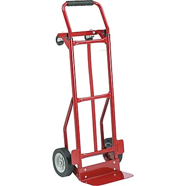 Safco Two-Way Convertible Hand Truck Cart, 300-400lb Capacity