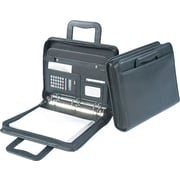 Samsill® Zipper Binder Padfolio with Retractable Handles