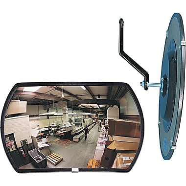 160 degree Convex Security Mirror, 18in. w x 12in. h