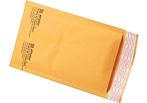 Jiffylite® Kraft Bubble Padded Self Seal Mailer #2, 8-1/2' x 11', 100/Case