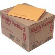 Jiffy® Mailer, Padded Kraft with Plain Flap, 10-1/2 x 16