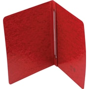 "Smead Pressboard Binder, Red, 8 1/2"" x 11"""