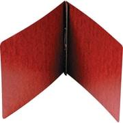 "Smead Hinge Pressboard Binder, Red, 8 1/2"" x 11"""