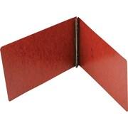"Smead Hinge Pressboard Binder, Red, 8 1/2"" x 14"""