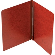 "Smead Pressboard Binder, Red/Brown, 8 1/2"" x 11"""