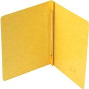 "Smead Hinge Pressboard Binders, Yellow, 8 1/2"" x 11"""