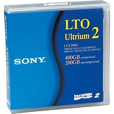 Sony 200/400GB LTO Ultrium 2 Data Cartridge