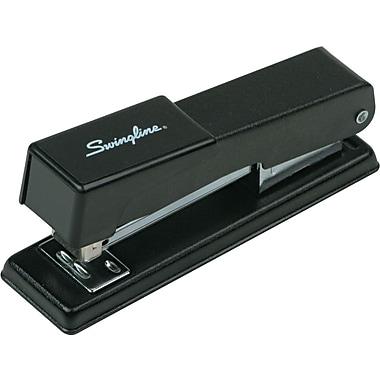 Swingline® Compact Desk Stapler, Fastening Capacity 20/20 lb., Black