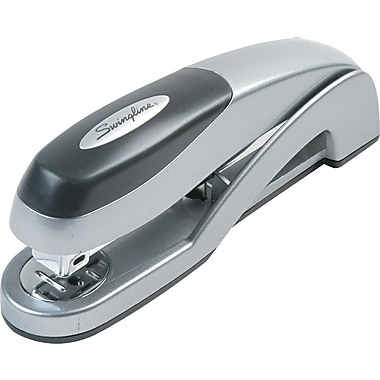Swingline® Optima Full Strip Stapler, 25 Sheet Capacity, Silver