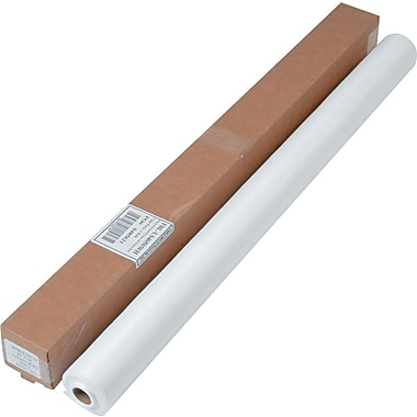 Tablemate® Linen-Soft Non-Woven Polyester Banquet Roll, 50' L x 40in. W, White