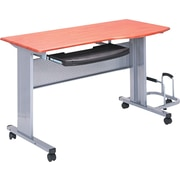 Tiffany Industries™ Eastwinds Mobile Work Table, Medium Cherry