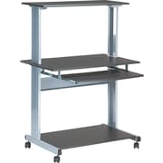 Tiffany Industries™ Eastwinds Multimedia Workstation, Charcoal Gray