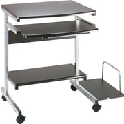 Tiffany Industries™ Portrait Mobile PC Workstation, Charcoal Gray