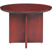 "Mayline Corsica Conference Room 42"" Round Table, Sierra Cherry, 29 1/2""H x 42"" Diameter"