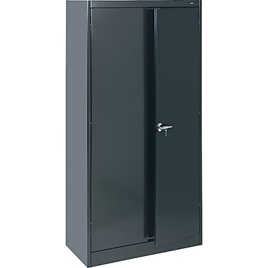Tennsco Standard Storage Cabinets, Black