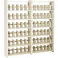 Add-on Unit for Snap-Together Open Shelving, 6-Shelves, 76in.H x 36in.W