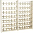 "Add-on Unit for Snap-Together Open Shelving, 7-Shelves, 88""H x 48""W"