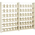 Add-on Unit for Snap-Together Open Shelving, 6-Shelves, 76in.H x 48in.W