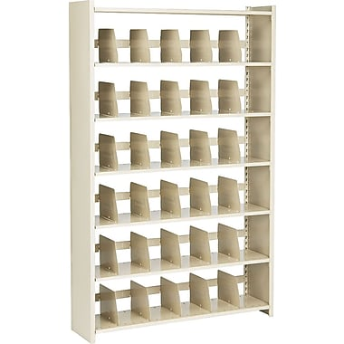 Snap-Together Open Shelving Units, Starter Set, 6-Shelves, 76in.H x 48in.W