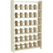 "Snap-Together Open Shelving Units, Starter Set, 6-Shelves, 76""H x 48""W"