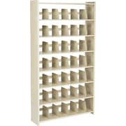 """Snap-Together Open Shelving Units, Starter Set, 7-Shelves, 88""""H x 48""""W"""