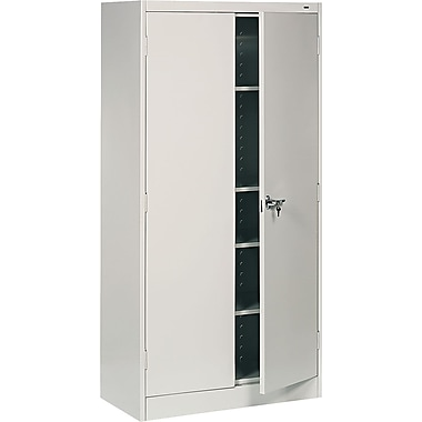 Tennsco Standard Storage Cabinets, Light Gray