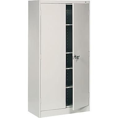 Tennsco Standard Storage Cabinets, Light Gray