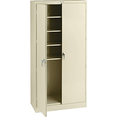 Tennsco Steel Storage Cabinet, Putty, 78in.H x 36in.W x 18in.D