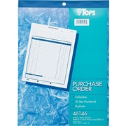 "Tops® Purchase Order Books, 8-1/2"" x 11"", 2 Part"