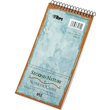 TOPS® Second Nature Wirebound Subject Notebook, 4