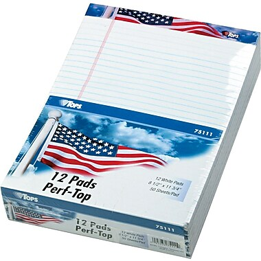 American Pride Writing Tablet, 8.5