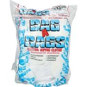 Bag-A-Rags Reusable Cotton Wiping Cloths, Randomly-Sized Cloths, 1 lb. Bag